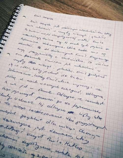 Notatki do opowiadania