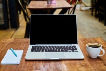 komputer i kawa